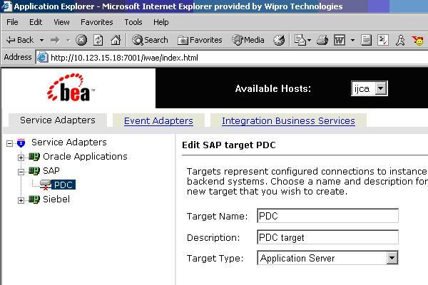 Integration of SAP46C with BEA Weblogic Server | SAP Blogs