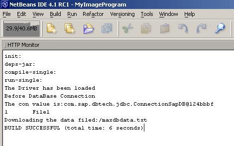MAXDB JAVA WINDOWS XP DRIVER