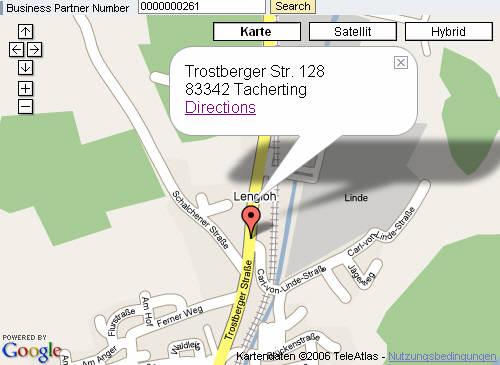 Geocode Business Partner with Google Maps | SAP Blogs