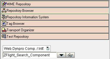 sap how to open webdynpro application