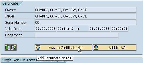 Authenticate from php to a web service using x509 certificates import the certificate created for the rfc client from my blog setup data encryption between rfc client and web as abap with snc also to the ssl server m4hsunfo