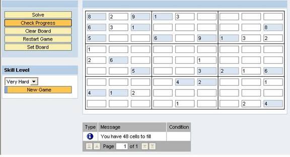sudoku solver written in abap bsp sap blogs
