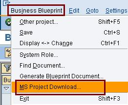 Sap solution manager 40 project management business blueprint image malvernweather Choice Image