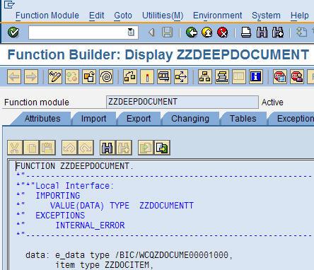 sap netweaver bi 7 0 how to create a webservice with deep input