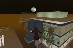 the moon over SAP Second Life