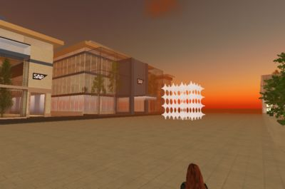 SAP Headquarters in Second Life