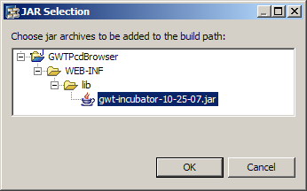 add gwt-incubator to your build path