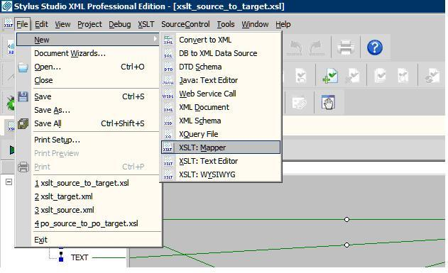 creating xslt mapping using stylus studio editor sap blogs