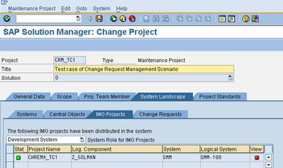 First Steps To Work With Change Request Management