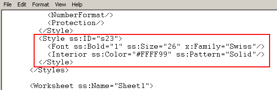 abap and excel create formatted excel using xml sap blogs