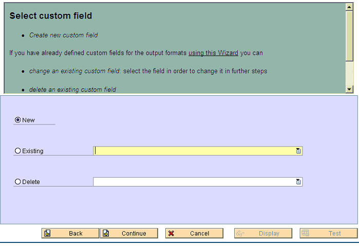 Additional Fields - 2