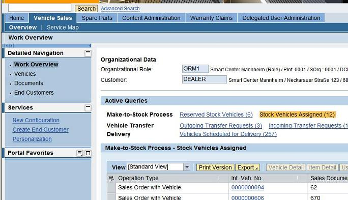 automotive dealer portal