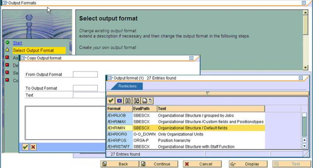 Wizard for Output Format - 2