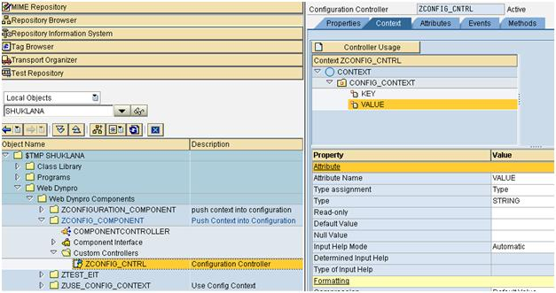 Create Configuration Context