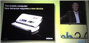 nokia: new behavior requires a new device