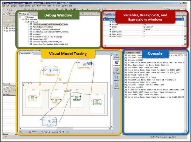 Visual Composer Debugger