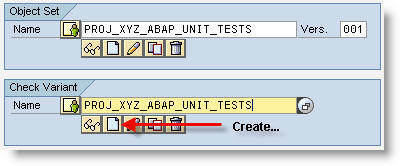 Create a Check Variant
