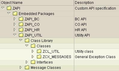 ZAPI_UTIL package