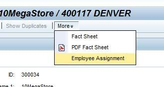 Manual Assignment in Account Overview-Page