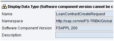 FSAPP 200 Data Type LoanContractCreateRequest