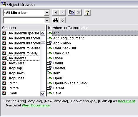 Object Documents