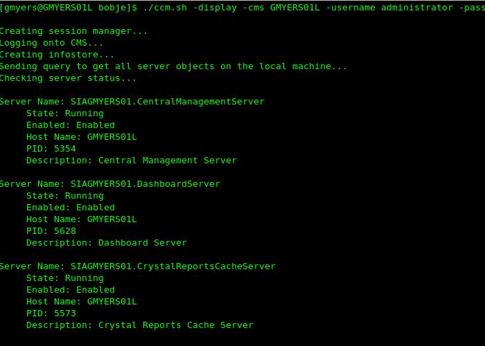 Tour of the Non-Windows Central Configuration Manager   SAP Blogs