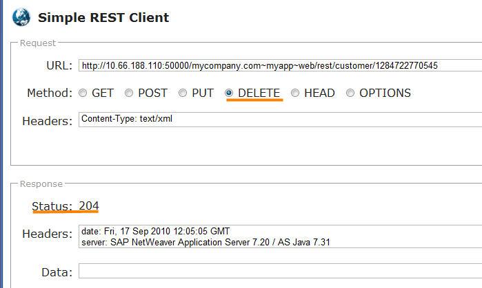 restful services development with sap netweaver ce sap blogs