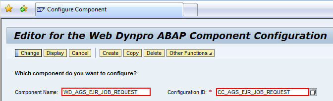 How To Configure SapS Standard Job Request Form  Part   Sap Blogs