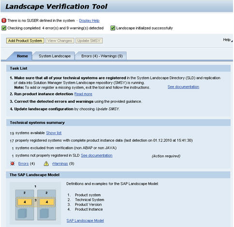landscaoe versification tool - overview page