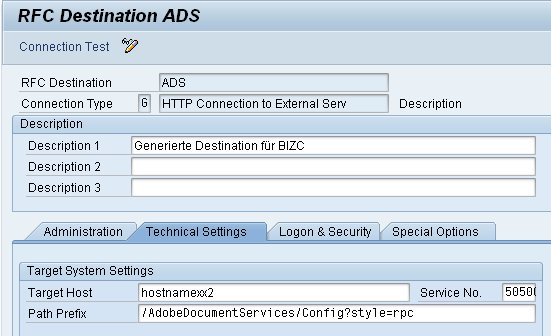 ABAP HTTP connection