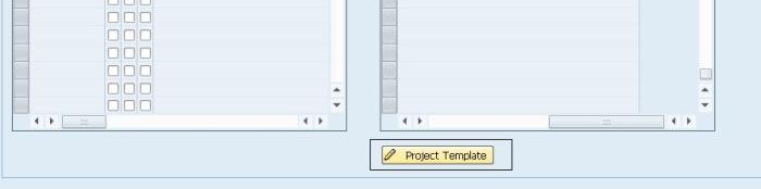 Project Template Button