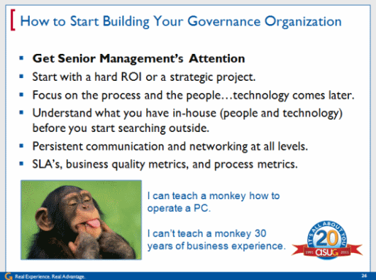 How to Start Building Your Governance Organization