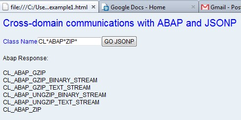 Cross Domain Communications With Abap And Jsonp Sap Blogs