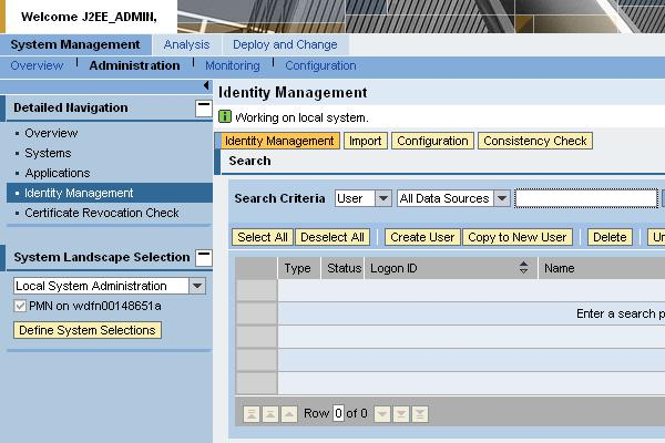 User Management with SAP NetWeaver Administrator | SAP Blogs