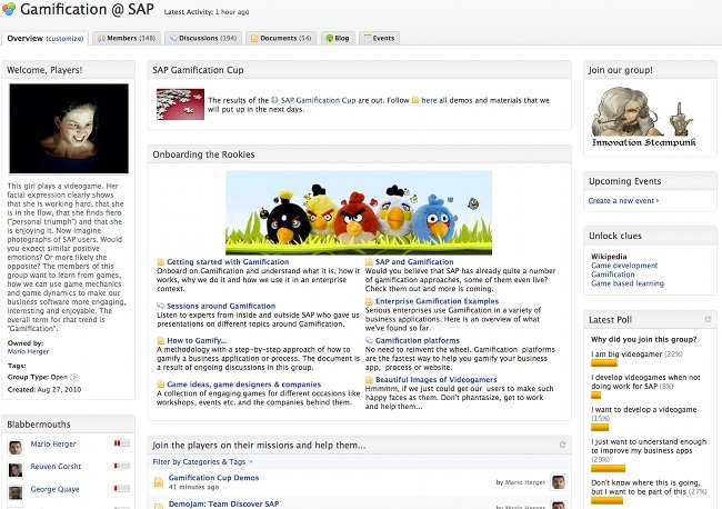 Gamification @ SAP