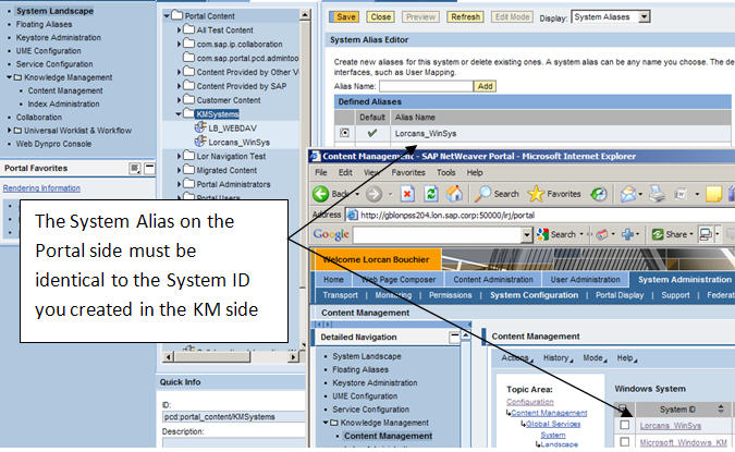 System Alias identical to System ID