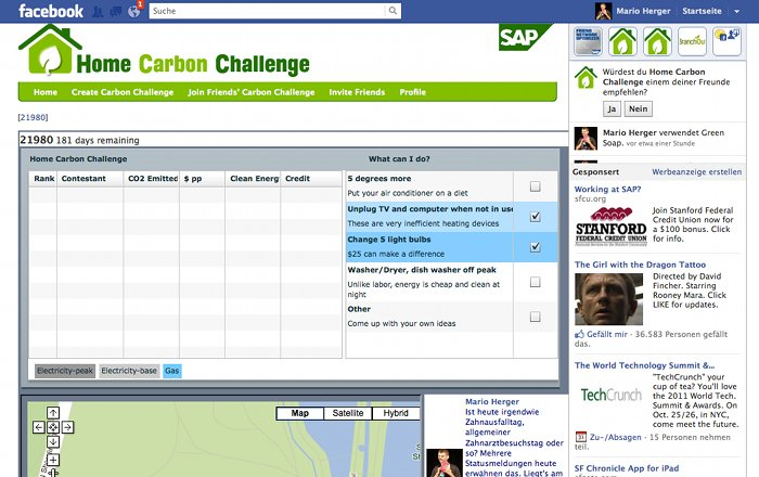 SAP Home Carbon Challenge