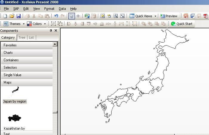 Thematic mapping scn points with kml and other thematic map examples so checking the program for all things related to maps and japan i found the following map for the regions of japan sciox Choice Image