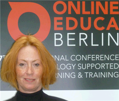 Sue Martin at Online Educa