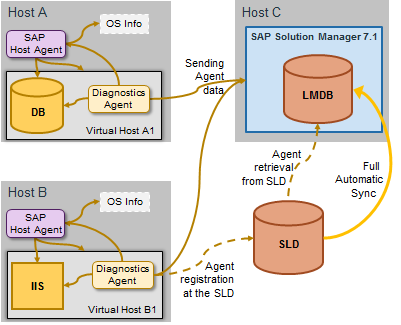 SAP Host Agent gathers information on the host's operation system