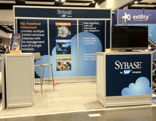 Sybase Cloud Connect 2012 Booth