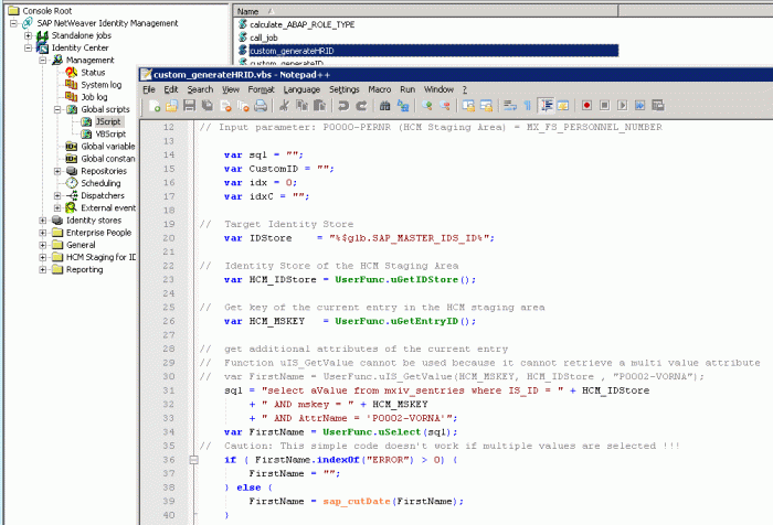 Syntax highlighting with Notepad++