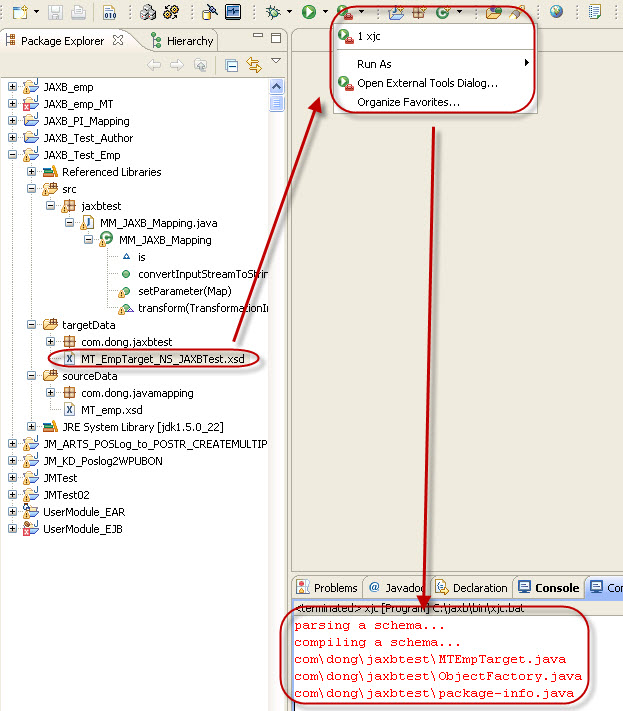 Step-by-Step to learn Java-Mapping with JAXB | SAP Blogs