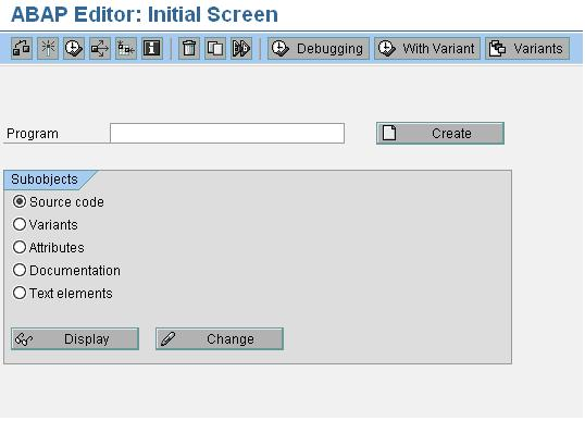 Find A Code >> How To Find Transaction Code For Particular Screen Sap Blogs