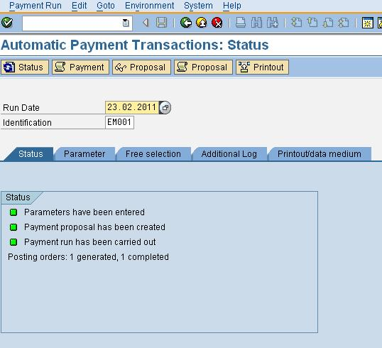 e payment a customized solution other than sap integration package