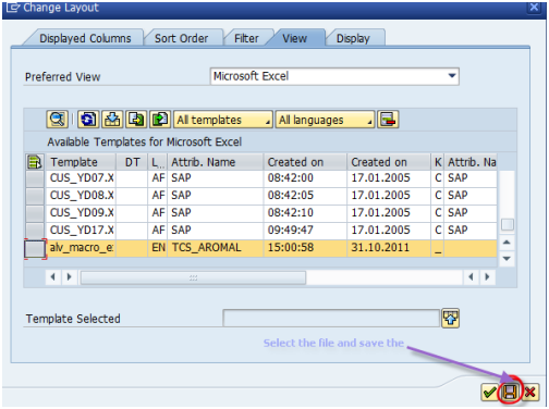SAP ALV Excel Inplace With Macro Recording SAP Blogs - Excel macro template