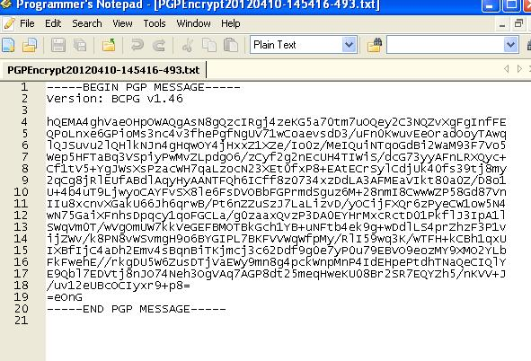 PGPDecryption Module: A Simple How to Guide | SAP Blogs
