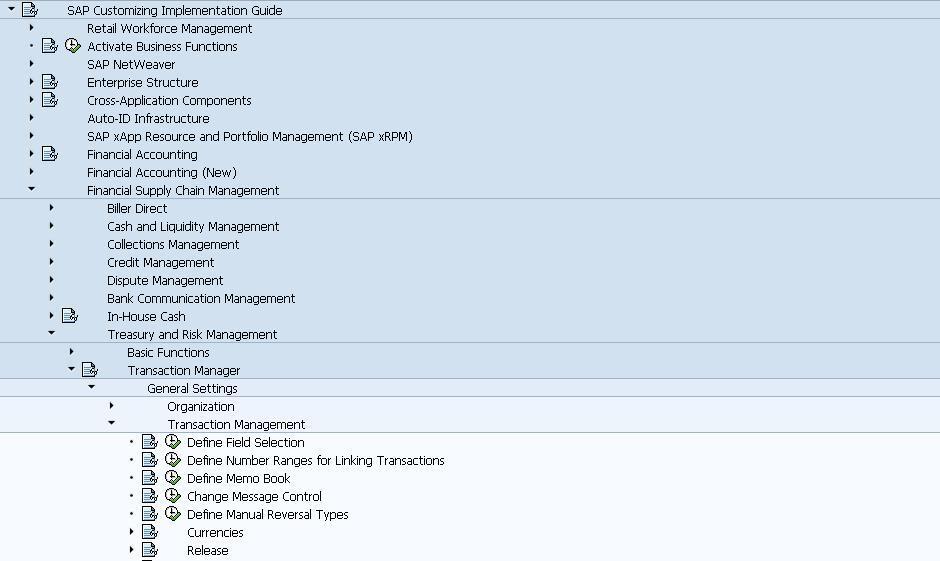 workflow for treasury risk management trm financial transaction rh blogs sap com sap treasury module user guide SAP Treasury Management