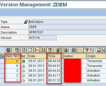 version management in sap bw 7 3 sap blogs