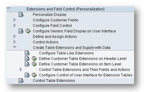 Table Extensions In Srm Documents Sap Blogs